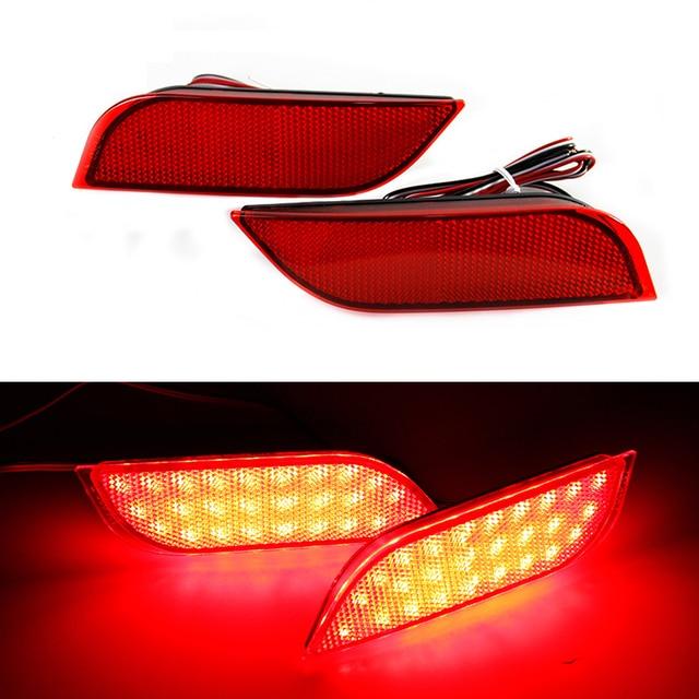 Ownsun New Multi-LED Reflector Rear Tail Light Bumper Brake Light For Subaru Impreza 2007+