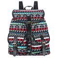 Rugzak sansarya 2017 da lona do vintage impressão mulheres mochila cordão mochila bagpack sacos de escola para adolescentes back pack