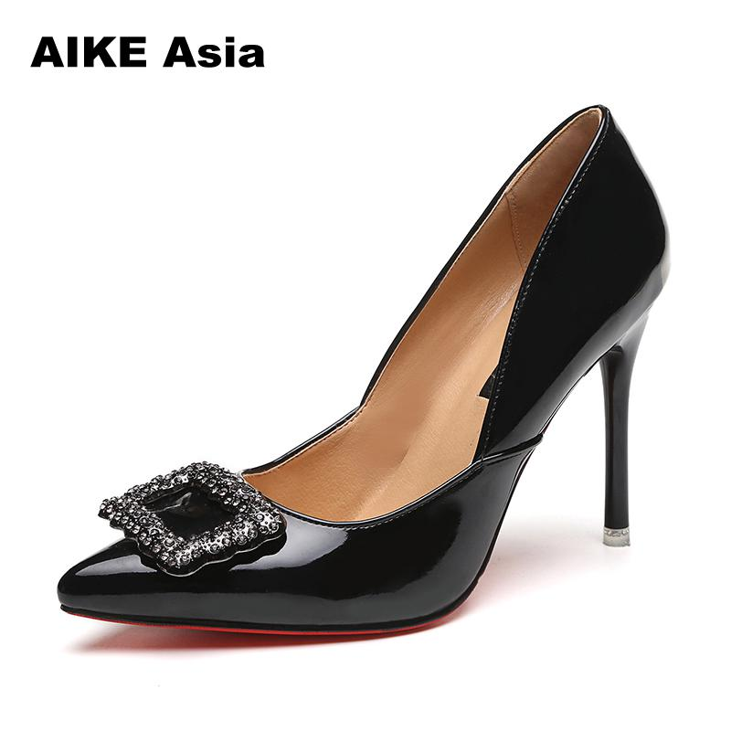 <font><b>Women</b></font> Pumps High <font><b>Heels</b></font> Fashion Diamond <font><b>Heel</b></font> Shoes <font><b>Women</b></font> Fashion Pointed Toe Extreme High <font><b>Heels</b></font> Female Shoes <font><b>Stiletto</b></font> <font><b>Heels</b></font>