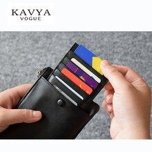 KAVYA 2017 Brand Mens Genuine Leather Clutch Wallet Vintage Cowhide Man Purse & Card holder Cell Phone Pocket Male Bags