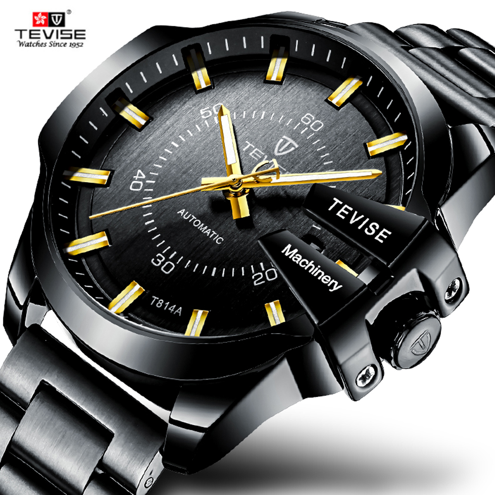 Tevise Luxury Brand Mens Watch Automatic Mechanical Man Watch Business Waterproof Relogio Masculino Wristwatch Self WindingTevise Luxury Brand Mens Watch Automatic Mechanical Man Watch Business Waterproof Relogio Masculino Wristwatch Self Winding