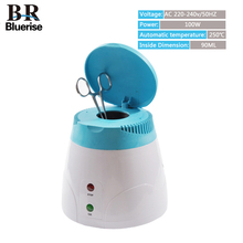 Nails Sterilizer Machine Manicure Pedicure Art Tools Disinfecting Beauty Salon Home Use Sterilizing Metal Nipper Tweezers