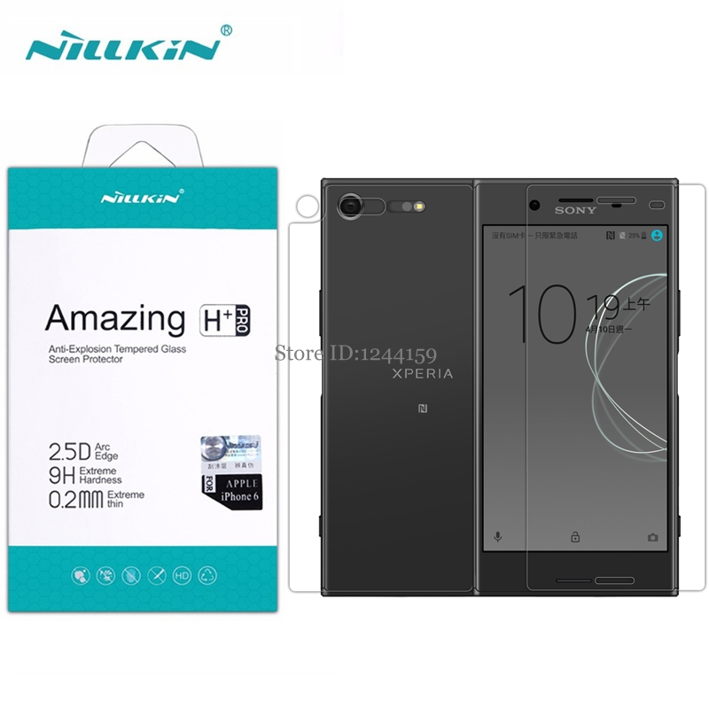 Tempered Glass for Sony XZ Premium Nillkin 0.2mm 2.5D H+Pro For Sony Xperia XZ Premium Dual Sim Screen Protector film