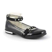 Черные туфли Скороход 11-306-1 интересный дизайн