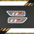 Carro de metal 3D Auto Adesivos Emblema R Linha Rline Emblemas para VW GOLF GTI