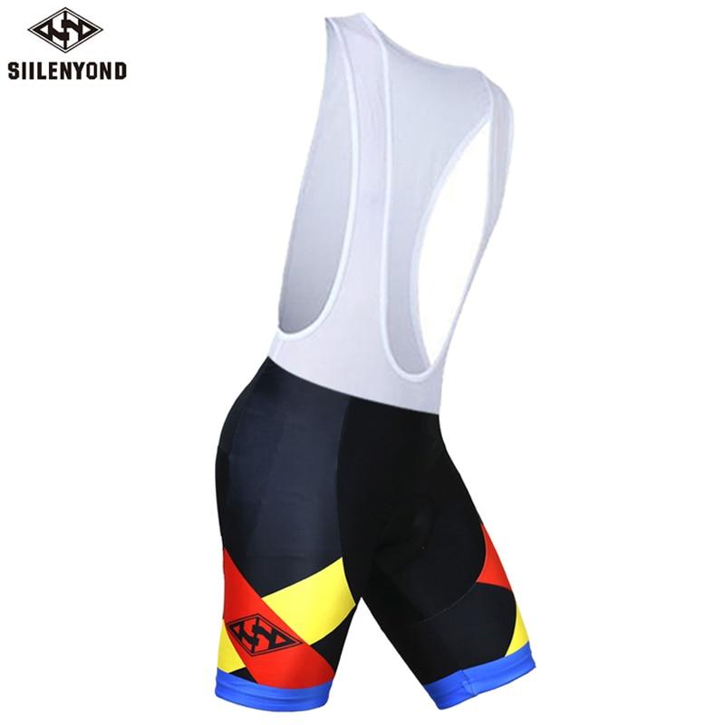 Siilenyond, мужская спортивная одежда, велосипедные шорты, мягкие, дышащие, для верховой езды, mtb, велосипедные шорты с нагрудником, анти-пот, шорты для велосипедистов mtb - Color: color 9