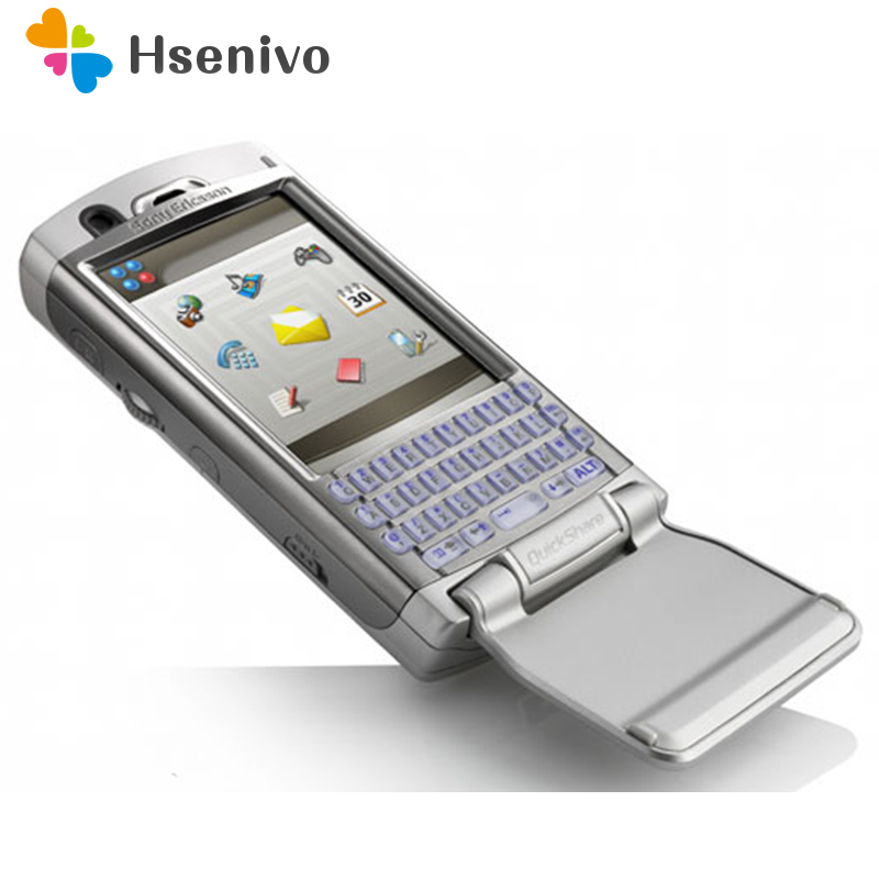 P990 100% Original Unlocked Sony Ericsson P990 P990i Mobile Phone 3G WIFI Bluetooth FM Unlocked Cell Phone Free Shipping