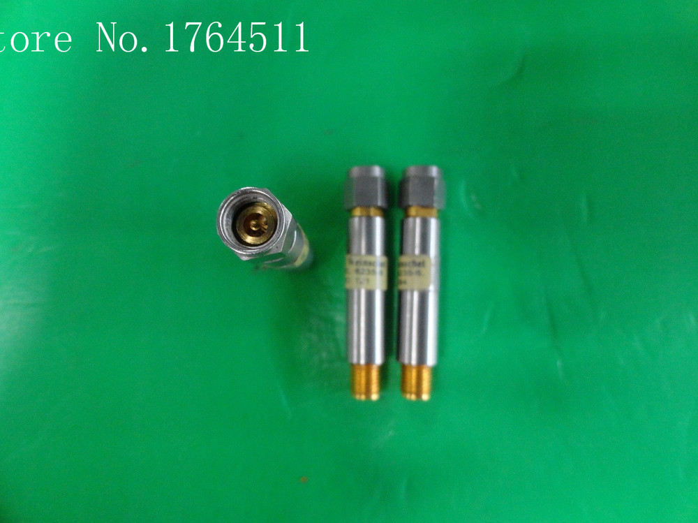 [BELLA] WEINSCHEL 6235-6 DC-18GHZ 6dB 2W SMA Precision Coaxial Fixed Attenuator