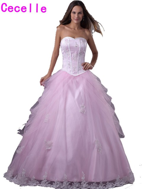 Ball Gowns with Tulle