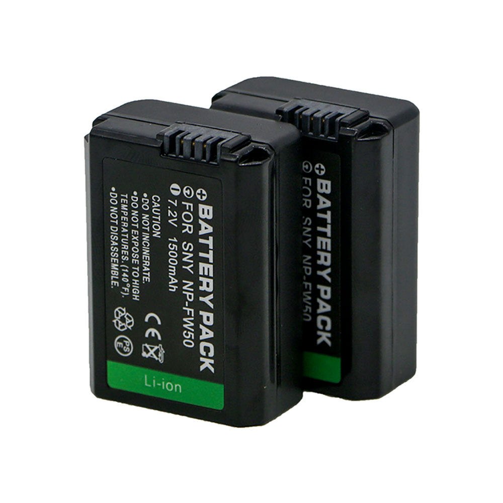 Camera Battery NP-FW50 NP FW50 for Sony NEX-7 NEX-5N NEX-F3 SLT-A37 A7 NEX-5R NEX-6 NEX-3 NEX-3A Alpha 7R II