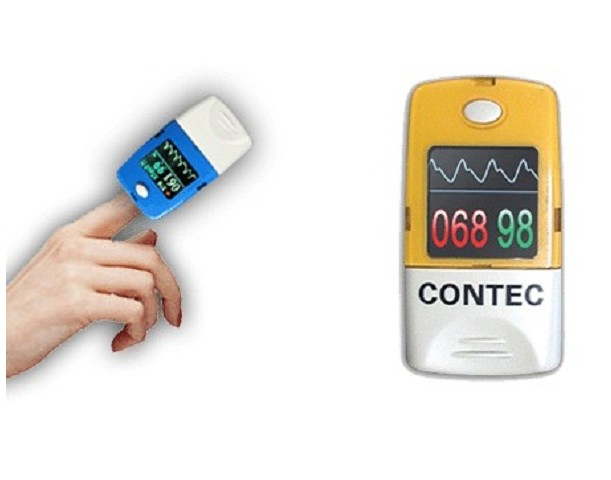CMS50C Color OLED Display Finger SPO2 Blood Oxygen Meter sega