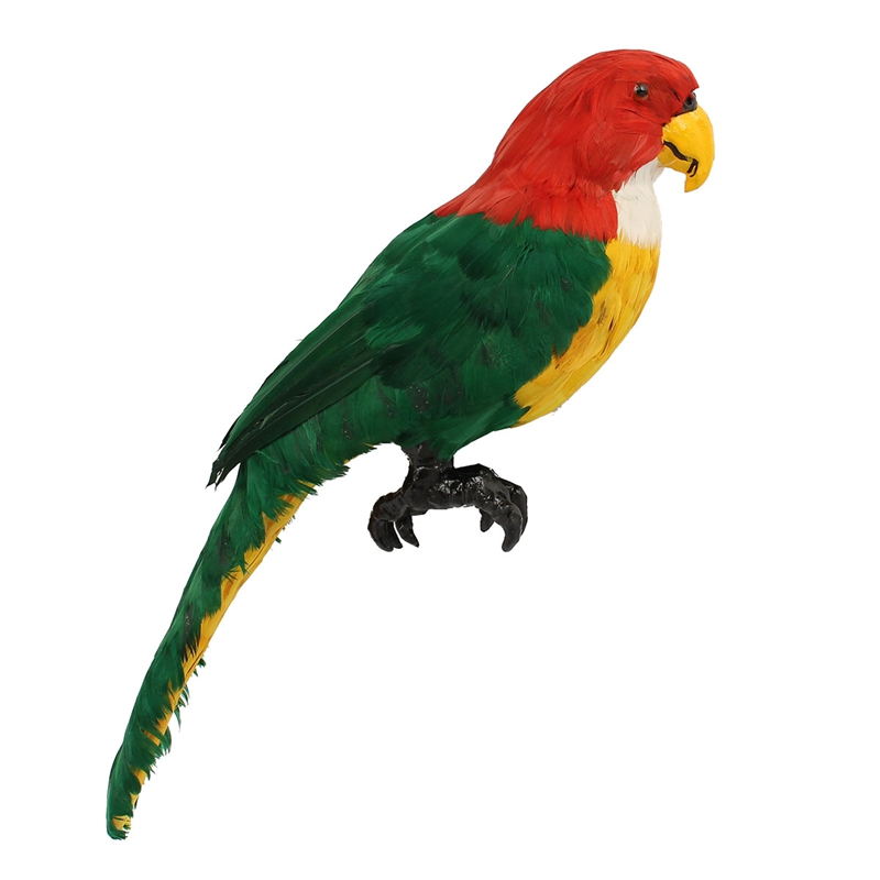 Online buy wholesale artificial feather birds from china for Artificial birds for decoration