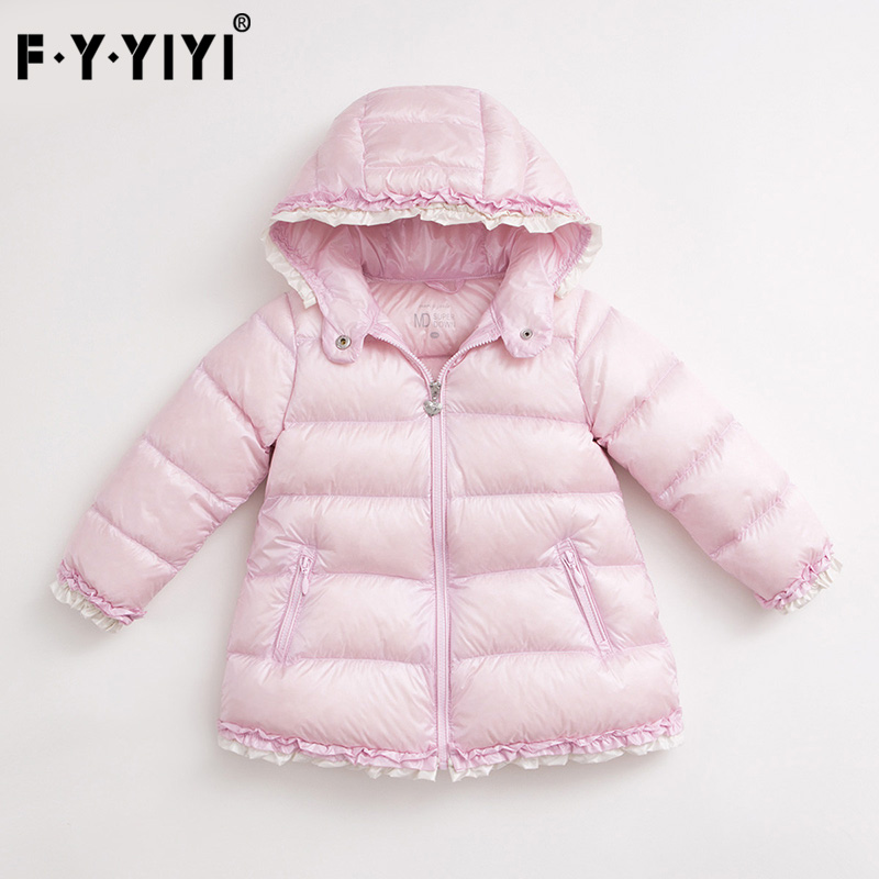 Winter Kids Jackets Super light down jacket Girls' long down jacket children clothing New Winter Collection new children down jacket out clothing winter ski clothes winter jacket for girls children outerwear winter jackets coats