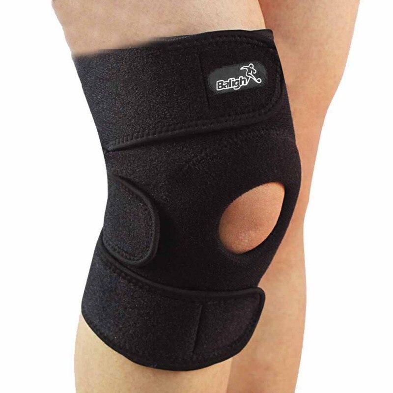 Balight New Elastic Brace Kneepad Adjustable Patella Knee Pads Knee Support Brace Safety Guard Strap for Basketball 1 PCS