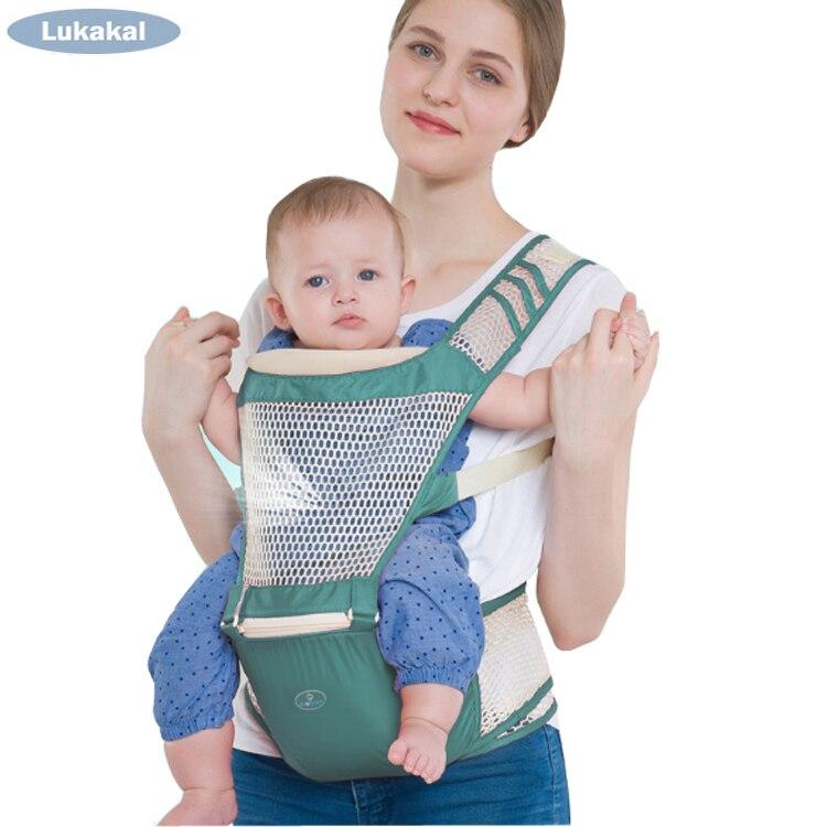 Respirável portabeble 1-36 m portador de bebê mochila ergonômico ortopédico recomendado bebê mochila cangurus envoltório estilingue do bebê