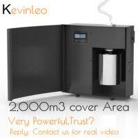Fragancia de la máquina del aire del aroma 7.500 sq. difusor de la Unidad de Aroma ft HVAC purificador de aire de 500 ml para el negocio del hogar del vestíbulo de la Oficina