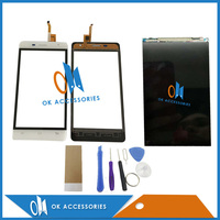 Black White Color For Oukitel K4000 Pro Original LCD Display Touch Screen Panel Glass With Tools