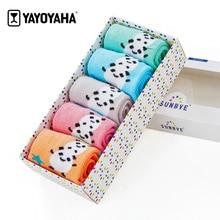 YAYOYAHA Fashion Kids Brand Socks for Boys Girls Cotton Children Boys Girls Socks Panda Series Unisex Baby Socks for Girls Kids