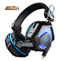CADA GS210 Wired Gaming Headset Stereo Surround Bass HiFi Control Remoto Pc Gamer Auriculares PC Gamer Apoyo PS3 Con Micrófono