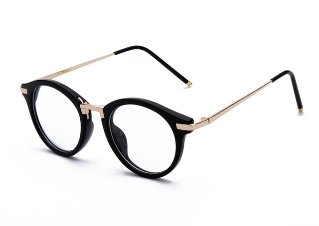06d12757b7 GAMT Round Hipster Glasses Clear Full Frame Eyeglasses for Men and Women