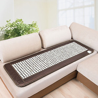 220V POP RELAX heating tourmaline magnetic therapy flat mat PR C06A Germanium stone physiotherapy pad 50x150cm