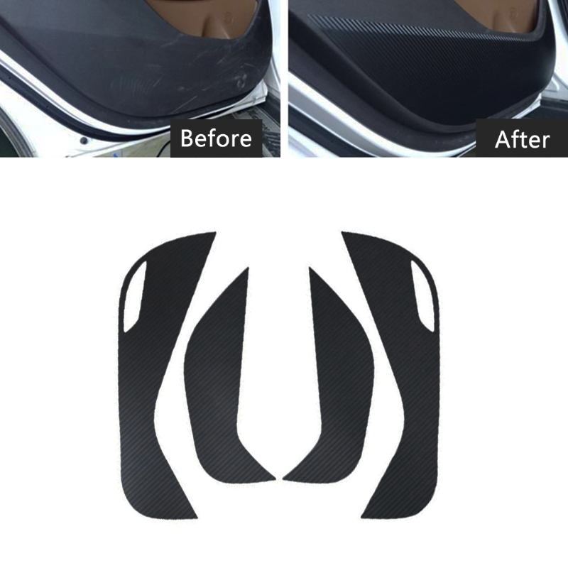 2019 New Hot New 4 Pcs Waterproof Auto Car Side Door Inner Decal Anti Kick Protective Sticker For Hyundai Tucson 2015 20162019 New Hot New 4 Pcs Waterproof Auto Car Side Door Inner Decal Anti Kick Protective Sticker For Hyundai Tucson 2015 2016