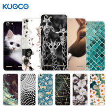 For Lenovo Vibe K5 / K5 Plus Lemon 3 A6020a40 A6020 A40 Back Cover Silicone Giraffe Design For Lenovo Vibe K5 Plus Case(China)