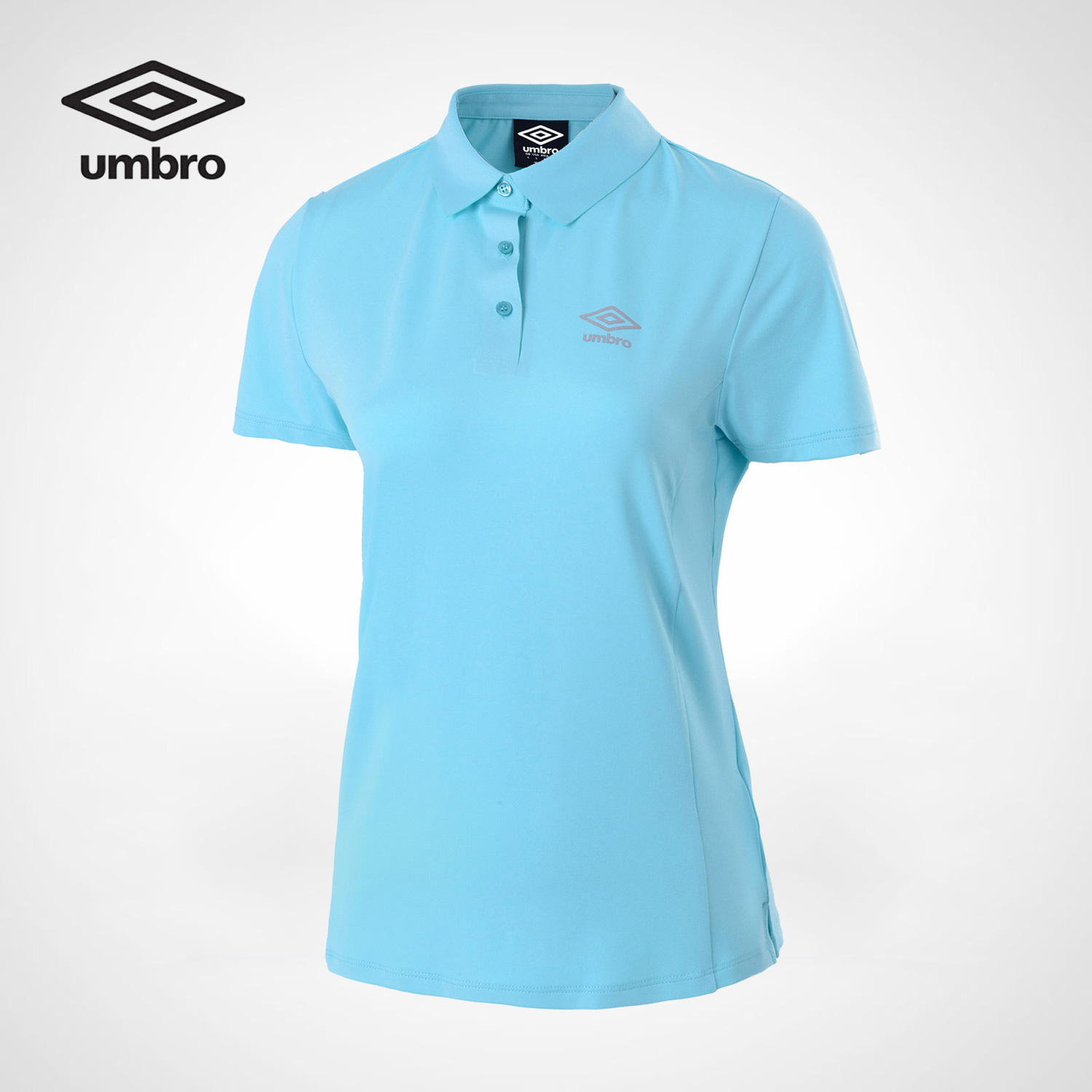 Umbro 2017 New Women Sports Short Sleeved Shirt Women Tops For Lady Polo Shirt Femme Sportswear UCC63108