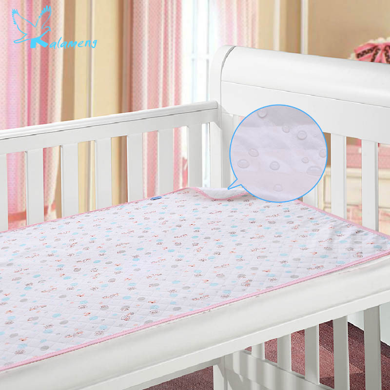 Kalameng Baby Mattress Infant Eco-cotton Pad Waterproof Breathable Insulation Wipes Across The Urine Mattress 70*105CM