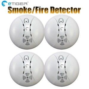 Image 4 - ETiger Detector de humo inalámbrico, ES D5A de sensor de alarma de incendio para el sistema de alarma Tigre S4/S3B
