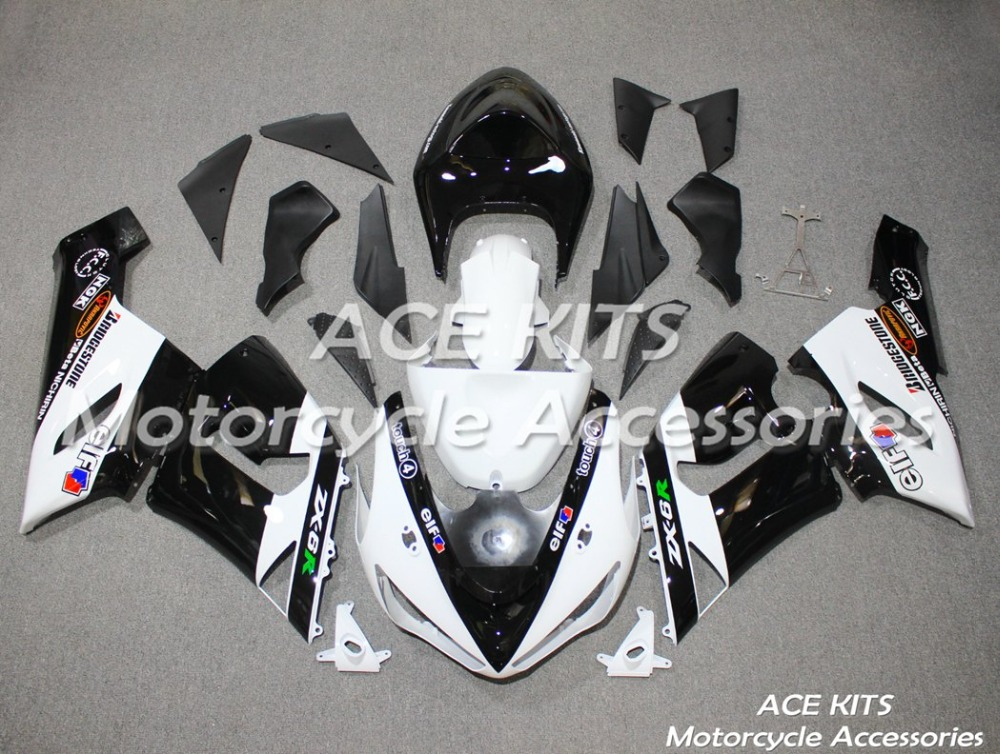 New ABS motorcycle Fairing For kawasaki Ninja ZX6R 599 636  2005 2006 Injection Bodywor   Any color All have  ACE No.292New ABS motorcycle Fairing For kawasaki Ninja ZX6R 599 636  2005 2006 Injection Bodywor   Any color All have  ACE No.292