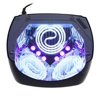 60WNail Dryer Pro UV Lamp LED Nail Lamp Nail Dryer For All Gels CCFL LED Nail Gel Lamp Infrared Sensing Timer Smart For Manicure