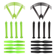 NEW ! Syma X5HW X5HC RC Drone Spare Parts Set Landing Skid + Blade Propeller + Frame for RC Quadcopter