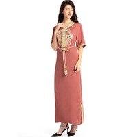 New Women S Maxi Long Dubai Dress Moroccan Kaftan Caftan Jilbab Islamic Abaya Muslim Turkish Middle