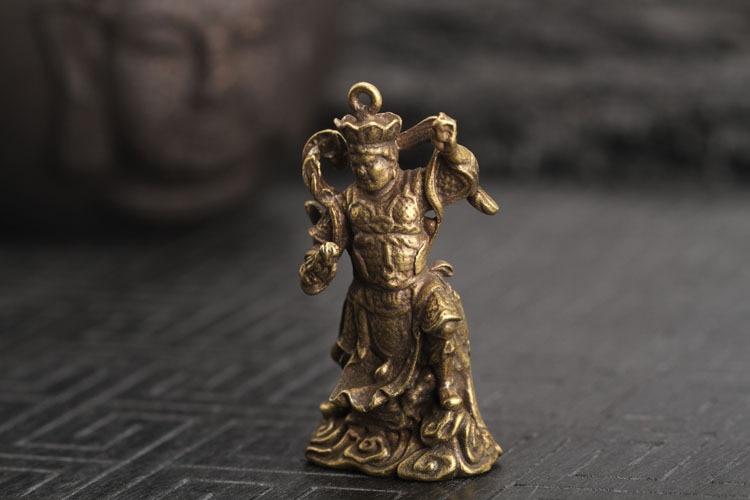 Buddha Statue keychain pendants (17)