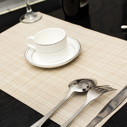4 Pcs lot Home Table Decoration Accessories Heat insulated Tableware PVC Chic Placemat Kitchen Dinning Bowl waterproof Pad Mat in Mats Pads from Home Garden