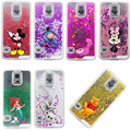 2016 NEW Classic Cartoon Lovely Pink Minnie Liquid Quicksand Case Cover For Samsung Galaxy Note 3