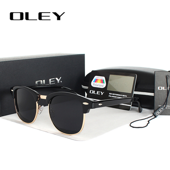 OLEY brands Unisex Classic Sunglasses men women polarized Retro Sun Glasses coating lens candy women goggles Oculos gafas Y3016