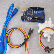 US200M Pulse Counter 5V DC input with USB power supply can plug onto computer flow rate meter arduino