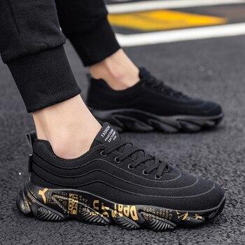 44e5be7c Zapatos de deporte de los hombres de verano de malla transpirable zapatillas  de deporte casuales calzado de hombre adulto Krasovki hombres Erkek calzado  ...
