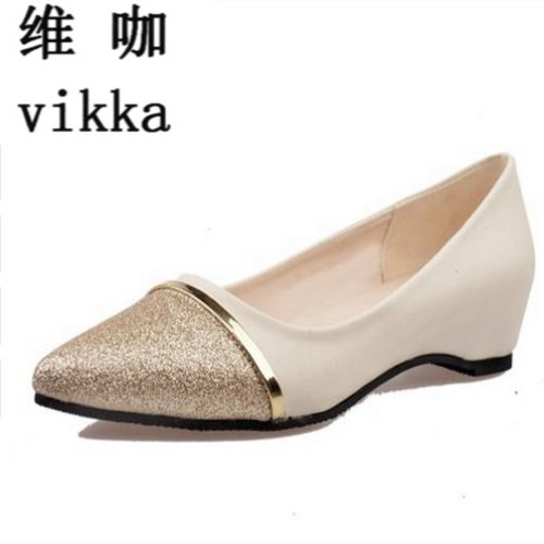 Women Shoes Fashion Pointed Toe Slip-On Flat Shoes Woman Comfortable Single Casual Flats Spring Autumn Size 35--40 zapatos mujer spring summer women flat ol party shoes pointed toe slip on flats ladies loafer shoes comfortable single casual flats size 34 41