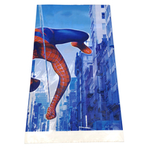 1PCS PACK Decorate Baby Shower Spiderman Theme Kids Boys Favors Table Cover Plastic Tablecloth Happy Birthday