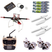 WST DIY Full set of 400 F450 Quadcopter Rack Kit font b drones b font FPV