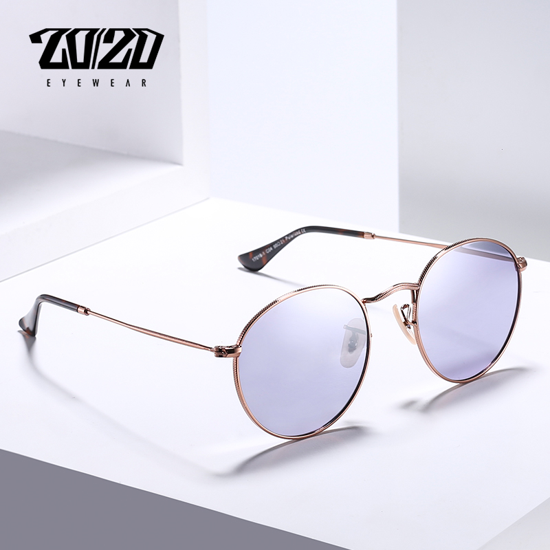 20/20 Brand New Unisex Sunglasses Men Polarized Lens Vintage Round Metal Eyewear Accessories Sun Glasses for Women 17018-1 11
