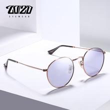 20/20 חדש לגמרי יוניסקס משקפי שמש גברים מקוטב עדשת בציר עגול מתכת משקפי שמש אביזרי משקפיים לנשים 17018 1
