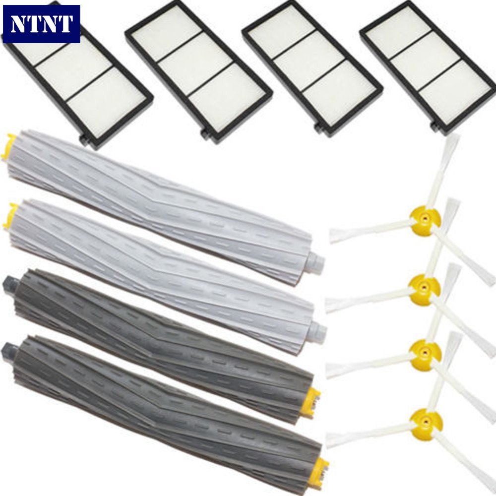 NTNT Free Post new Debris Extractor Brush,Filter Kit For iRobot Roomba 800 Series 870 880 Cleaner sv85 36mm 0 5w 6500k 65lm 6 smd led white lights for car pair 12v