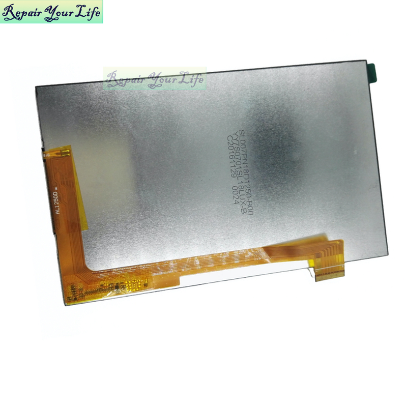 Bilgisayar ve Ofis'ten Tablet LCD'ler ve Paneller'de Orijinal AL1250 AL1250C AL1250D 30pin 7.0 ekran ekran texet digma düzlem iconbit prestigio ginzzu texet bq tablet lcd matrix title=