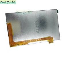 Oryginalny AL1250 AL1250C AL1250D 30pin 7.0 ekran wyświetlacza texet digma samolot iconbit prestigio ginzzu texet bq tablet lcd matrix