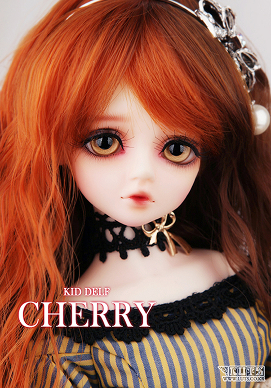 1/4 scale BJD lovely kid BJD/SD sweet cute girl luts cherry Resin figure doll DIY Model Toys.Not included Clothes,shoes,wig 1 4 scale bjd lovely kid cute bjd sd human body crobi marisol resin figure doll diy model toys not included clothes shoes wig
