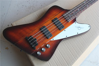 Wholesale High Quality Newest Firebird Electric Guitar 4 strings bass guitar free shipping Real photo 10YUE